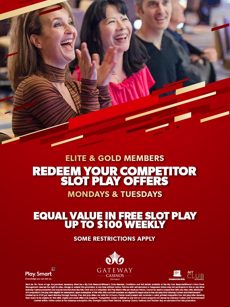 Competitor Slot Offer