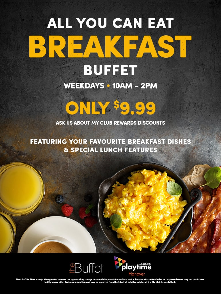 Awesome Breakfast Buffet Playtime Casino Hanover Home Interior And Landscaping Eliaenasavecom