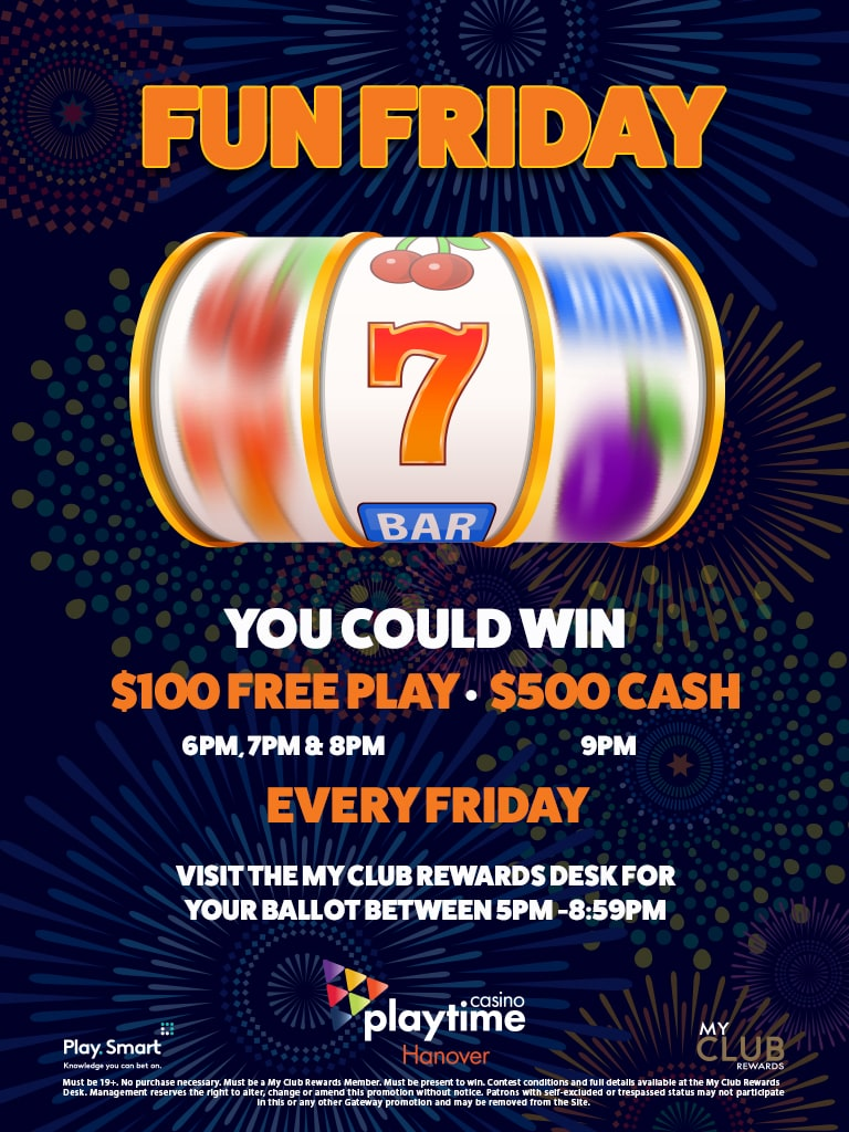 Fun Friday - Playtime Casino Hanover