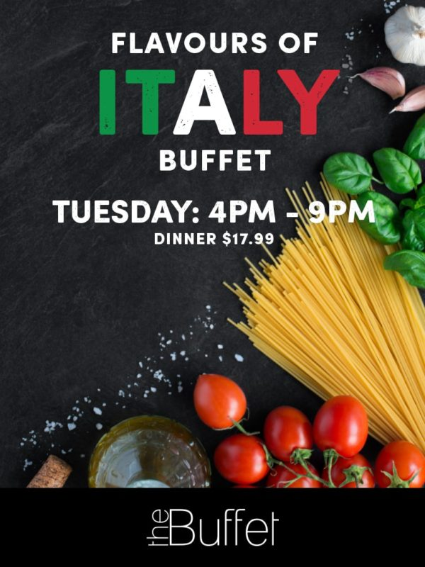 Flavours of Italy Buffet