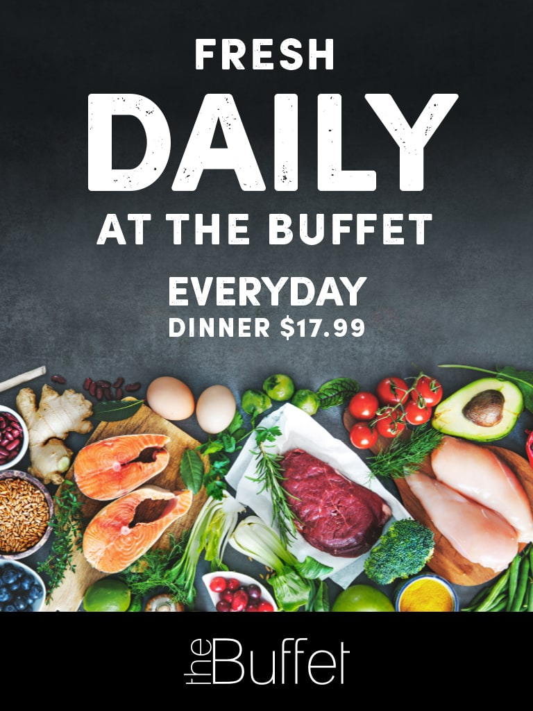 Fresh Daily at The Buffet