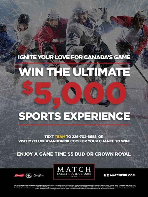 Win The Ultimate Sports Experience