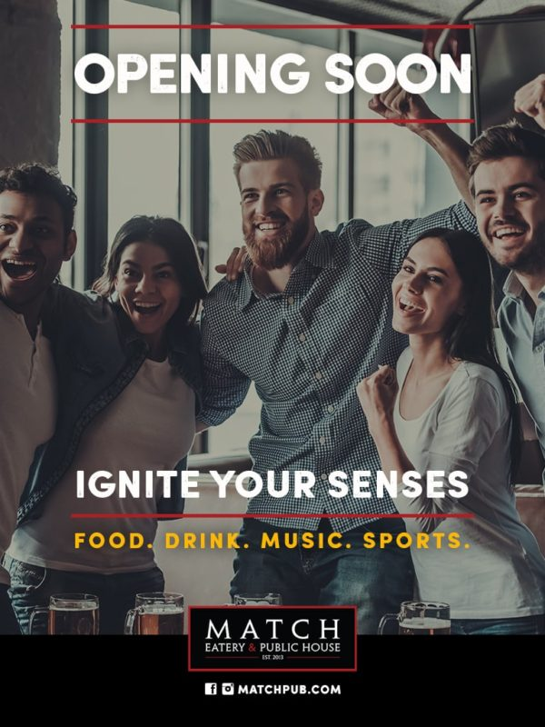 MATCH Opening Soon